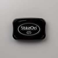 Jet Black StazOn Pad - by Stampin' Up!