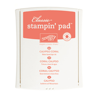 Calypso Coral Classic Stampin' Pad by Stampin' Up!