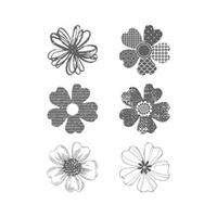 Flower Shop Wood-Mount Stamp Set by Stampin' Up!