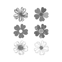 Flower Shop Clear-Mount Stamp Set by Stampin' Up!