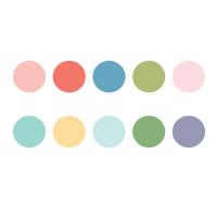 Nachfüller Pastellfarben