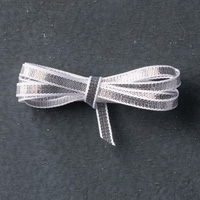 "Silver 1/8"" (3.2 Mm) Ribbon"