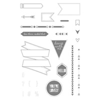 Show & Tell 1 Photopolymer Stamp Set