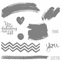 Work Of Art Clear Stamp Set by Stampin' Up!