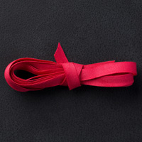 "Real Red 1/4"" Cotton Ribbon"
