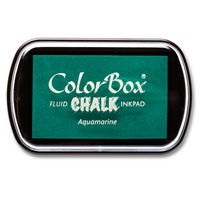 Aquamarine ColorBox Chalk Ink Pad von Stampin 'Up!
