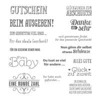 Geschenk deiner Wahl Photopolymer Stamp Set (German) by Stampin' Up!