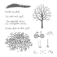 Baum der Freundschaft Photopolymer Stamp Set (German) by Stampin' Up!