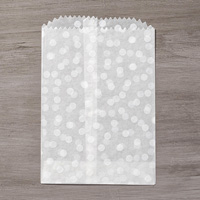 Sketched Dots Tag A Bag Gift Bags