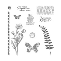 Simplement papillon Photopolymer Stamp Set (French) by Stampin' Up!