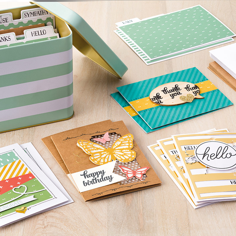 WOW Spotlight on the fabulous new Tin of Cards Project Kit