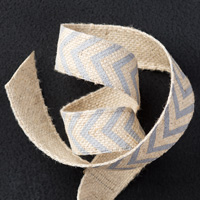 Slate Smoky 5/8 Chevron Ribbon par Stampin 'Up!