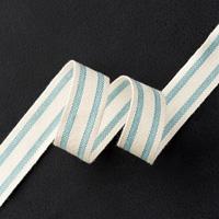 Lagunenblau Baumwollband