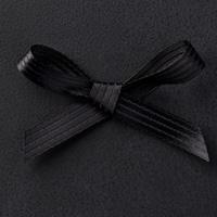 Basic Black 3/8 Stitched Satin Ribbon by Stampin' Up!