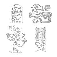 Ein echter Schatz Clear Stamp Set (German) by Stampin' Up!