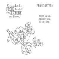 Frohe Osterbotschaft Clear Stamp Set (German) by Stampin' Up!