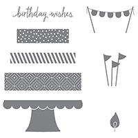 Build A Birthday Photopolymer Stamp Set