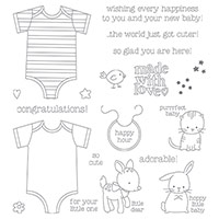 Made with Love Photopolymer Stamp Set by Stampin' Up!