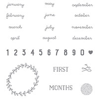 Project Life Hello Baby Photopolymer Stamp Set by Stampin' Up!