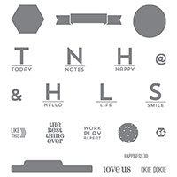Project Life This Is the Life Photopolymer Stamp Set by Stampin' Up!