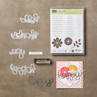 Crazy about You Photopolymer Bundle by Stampin' Up!