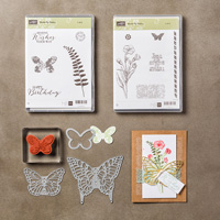 Butterfly Basics Clear-Mount Bundle by Stampin' Up!