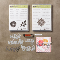 Crazy about You Clear-Mount Bundle by Stampin' Up!