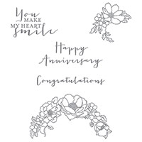 Timeless Love Clear-Mount Stamp Set by Stampin' Up!
