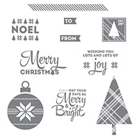 Lots of Joy Clear-Mount Stamp Set by Stampin' Up!