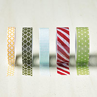 Season Of Cheer Designer Washi Tape