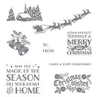 Cozy Christmas Clear-Mount Stamp Set by Stampin' Up!