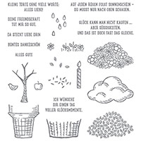 Worte, die gut tun Photopolymer Stamp Set (German) by Stampin' Up!