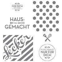 Hausgemachte Leckerbissen Clear-Mount Stamp (German) by Stampin' Up!
