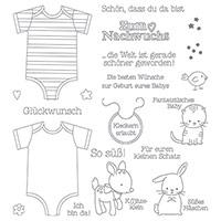 Zum Nachwuchs Photopolymer Stamp Set (German) by Stampin' Up!