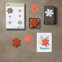 Beautiful Bunch Clear-Mount Bundle by Stampin' Up!