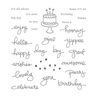 Endless Birthday Wishes Photopolymer Stamp Set
