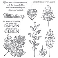 Blättertanz Photopolymer Stamp Set (German) by Stampin' Up!