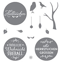 Zwischen den Zweigen Photopolymer Stamp Set (German) by Stampin' Up!