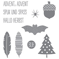 Grüße zum Jahresende Photopolymer Stamp Set (German) by Stampin' Up!