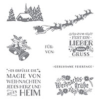 Magische Weihnachten Clear-Mount Stamp Set (German) by Stampin' Up!
