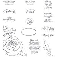 Rose Wonder Photopolymer Stamp Set