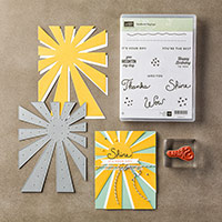 Sunburst Sayings Clear-Mount Bundle by Stampin' Up!