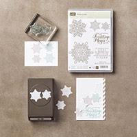 Flockenzauber Photopolymer Bundle (German) by Stampin' Up!