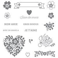 Éclosion d'amour Photopolymer Stamp Set (French) by Stampin' Up!