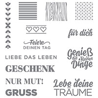 Die kleinen Dinge Photopolymer Stamp Set (German) by Stampin' Up!