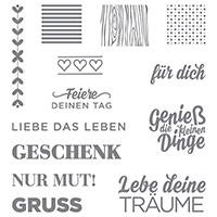 Die kleinen Dinge Photopolymer Stamp Set (German) by Stampin' Up!