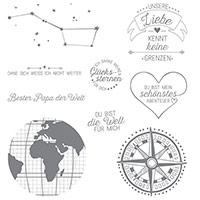 Liebe ohne Grenzen Clear-Mount Stamp Set (German) by Stampin' Up!