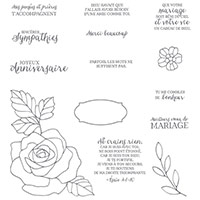 Essence de rose Photopolymer Stamp Set (French) by Stampin' Up!