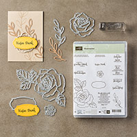 Rosenzauber Photopolymer Bundle (German) by Stampin' Up!