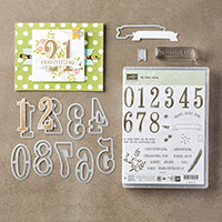 So viele Jahre Photopolymer Bundle (German) by Stampin' Up!